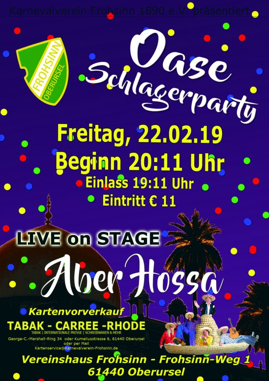 OASE-Schlagerparty 2019