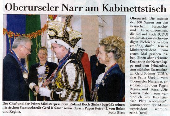 Prinz presse for Koch oberursel